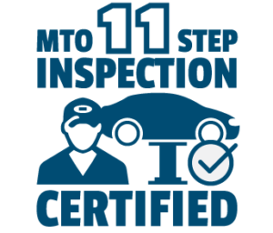 used car dealer MTO certified inspection